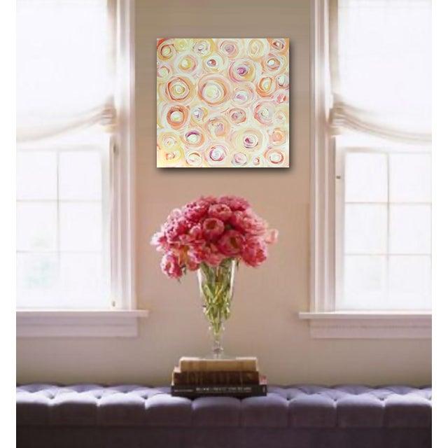 Linnea Heide 'Tearoses' Original Painting - Image 4 of 6
