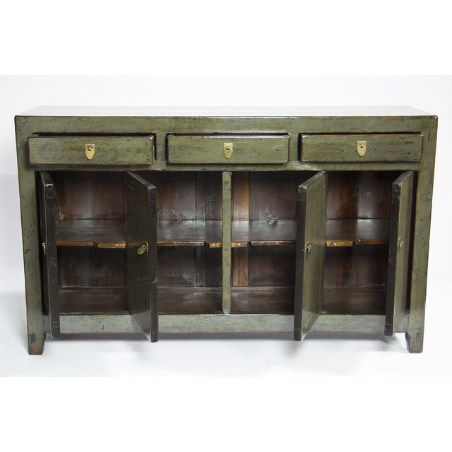 Image of Antique Lacquered Distressed Dongbei Sideboard