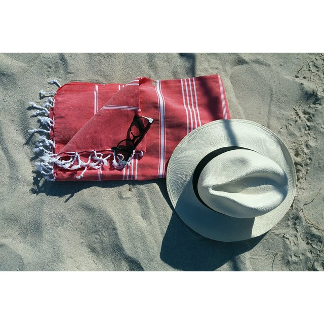 Strawberry Fisherman Striped Towalla Towel - Image 4 of 7