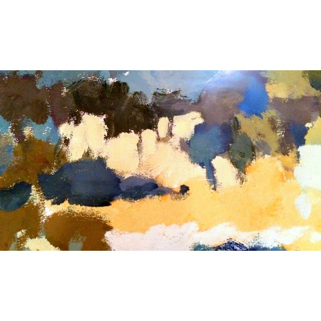 Nan Nalder Abstract Secluded Church Painting - Image 5 of 7