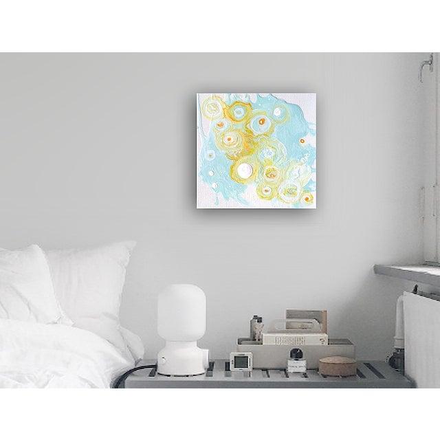 'Quark' Original Abstract Painting - Image 5 of 6
