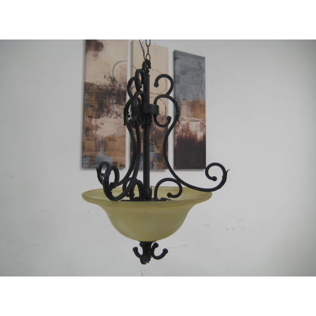 Image of Oil Rubbed Bronze Dome Chandelier