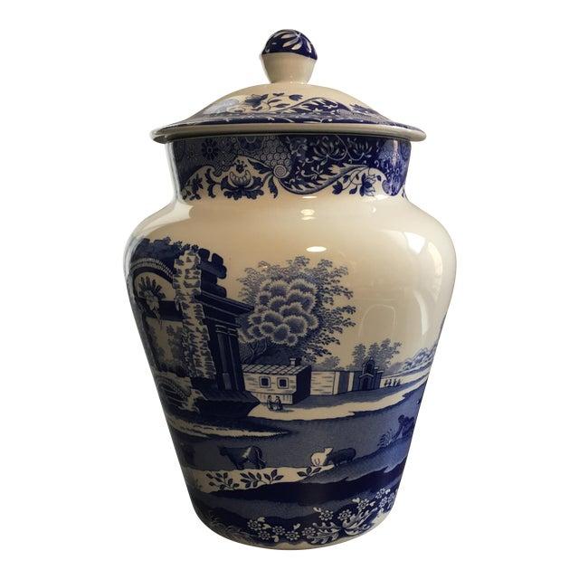 Spode Blue & White Ginger Jar - Image 1 of 4