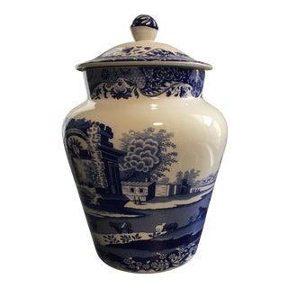Spode Blue & White Ginger Jar