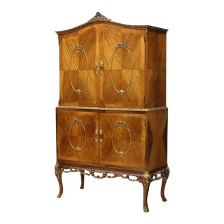 French Louis XV Style TV Cabinet