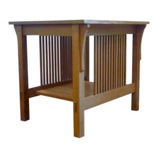 Stickley Mission Oak End Table