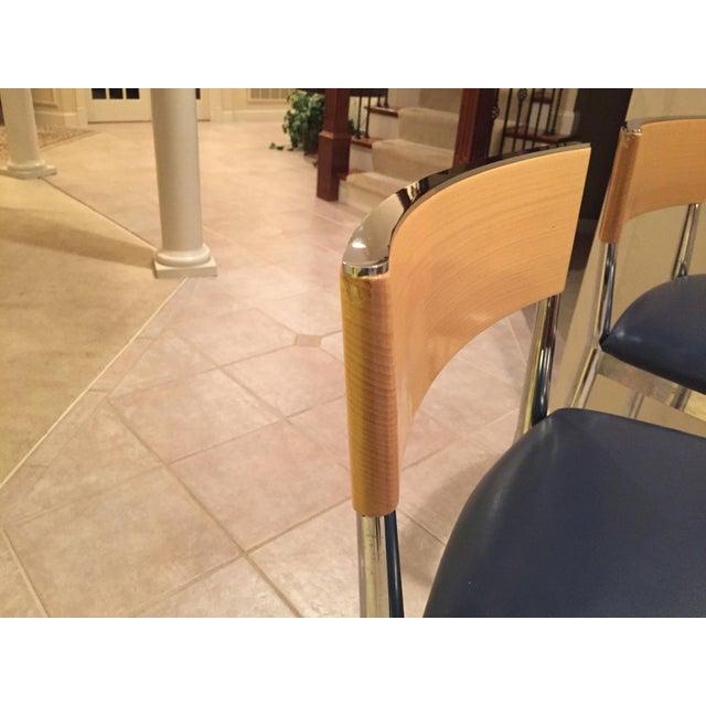 Loewenstein Modern Bar Stools - A Pair - Image 4 of 8