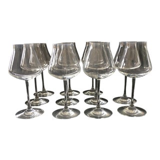 Château Baccarat White Wine Glasses - Set of 11