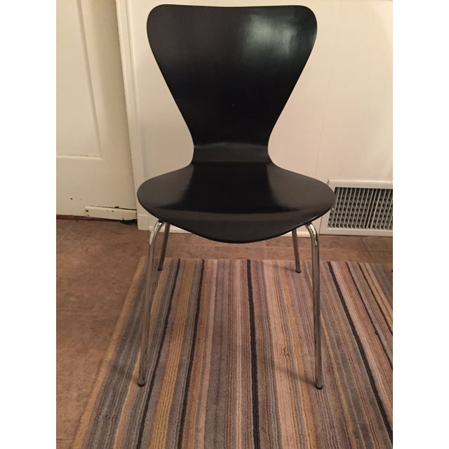 Black Butterfly Dining Chairs - Set of 6 - Image 6 of 9