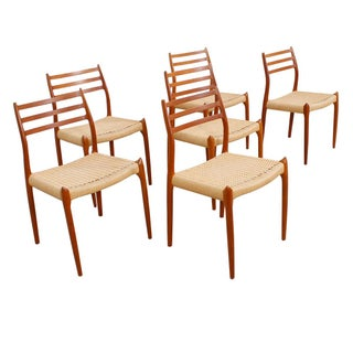 Niels Moller #78 Dining Chairs - Set of 6