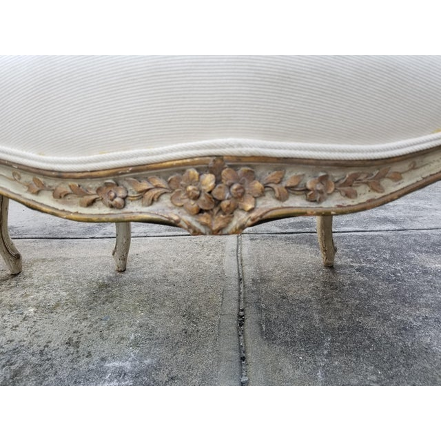 Vintage French Louis XV Style Armchairs - a Pair - Image 8 of 11