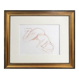 Vintage Study of a Female Nude