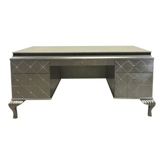 Hollywood Swank Dresser in Pearl Caviar