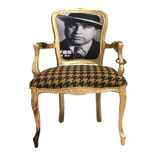 "Limited Edition #6 of 12 ""I Call It Business"" Daf House Art Piece Chair"