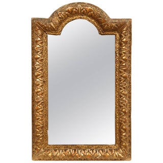 Early 18th Century French Regency Gold Mirror