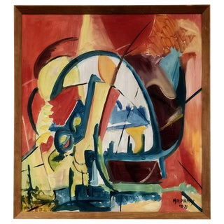 Miripolsky Abstract Oil Painting