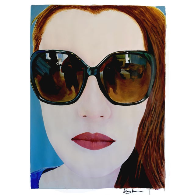 Portrait of a Girl With Sunglasses - Image 2 of 11