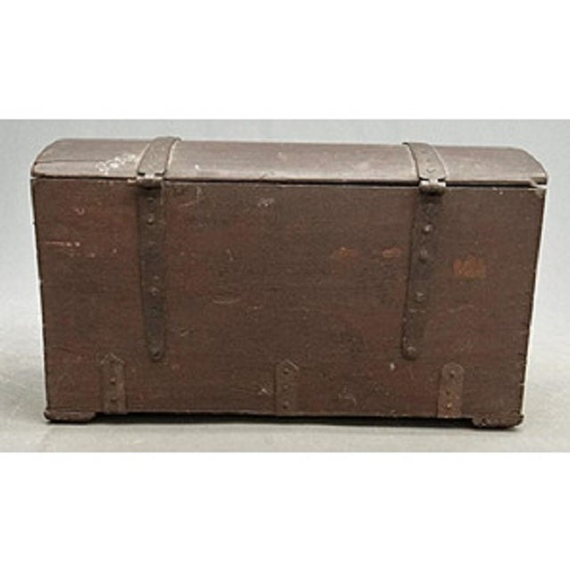 Antique 1780 Painted Trunk - Image 5 of 5