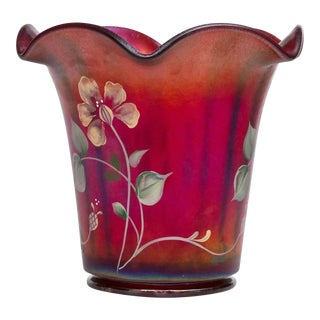 Fenton 100th Anniversary Founder's Vase