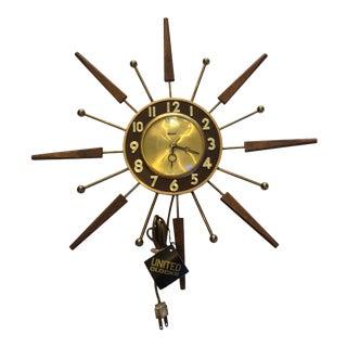 United Starburst Clock