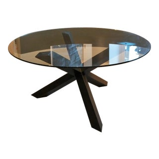 Elite Modern Glass Top Dining Table
