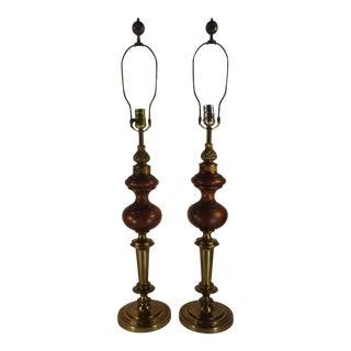 Vintage Rembrant Lamps - Pair