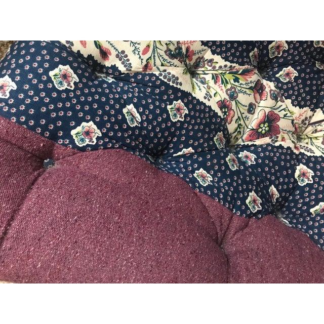 Lee Industries Tufted Upholstered Chair in Custom Tilton Fenwick Fabrics - Image 3 of 6