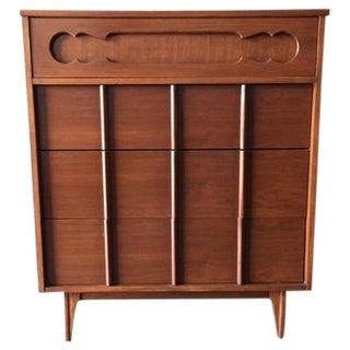 Refinished Walnut Highboy Dresser