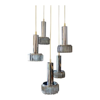 Cascading Hanging Lamp by Staff, 1970s