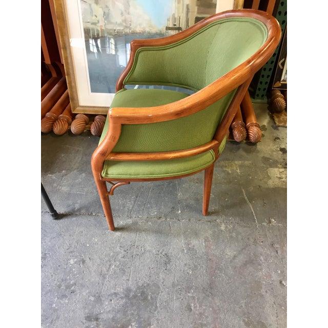 Green Corduroy & Bent Wood Chair - Image 7 of 8