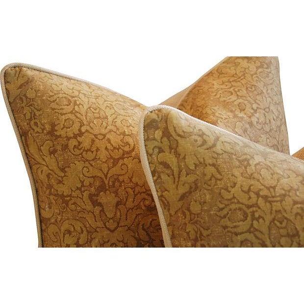 Ralph Lauren Evanston Gold Pillows - A Pair - Image 4 of 7