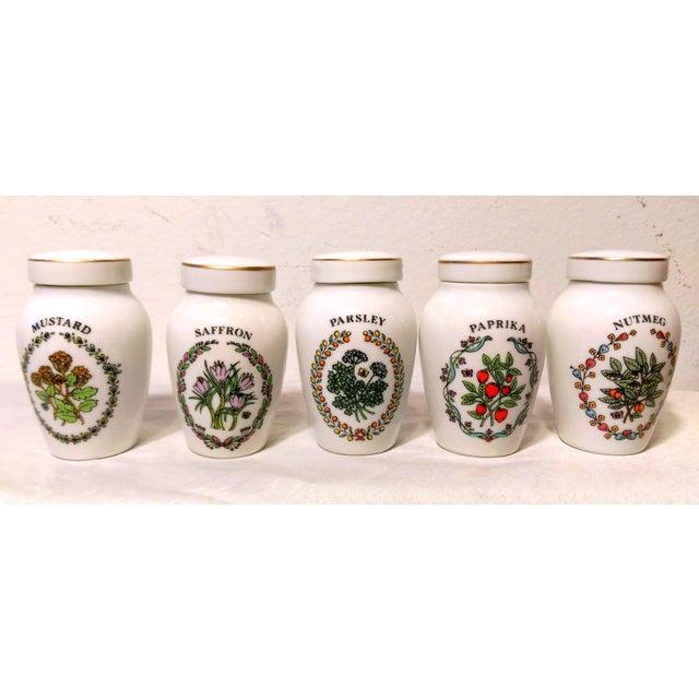 Franklin Mint Spice Jars - Set of 23 - Image 6 of 11
