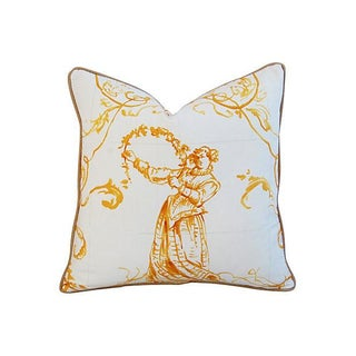 Custom French Pierre Frey Sintra Pillow