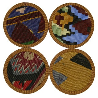 Kırıkkale Kilim Coasters - Set of 4