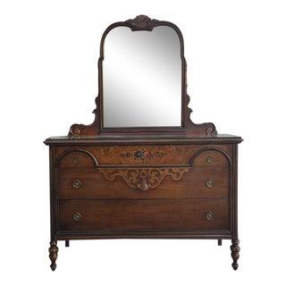 1920's Berkey & Gay Walnut Dresser