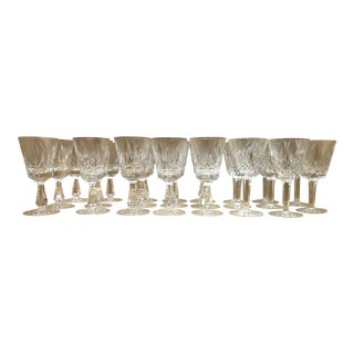 Waterford Lismore Wine Glasses - Set of 27