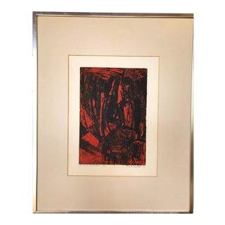 'Christ at Emmaus' Lithograph