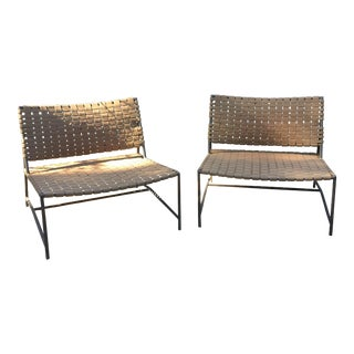 Restoration Hardware Outdoor Chairs - A Pair