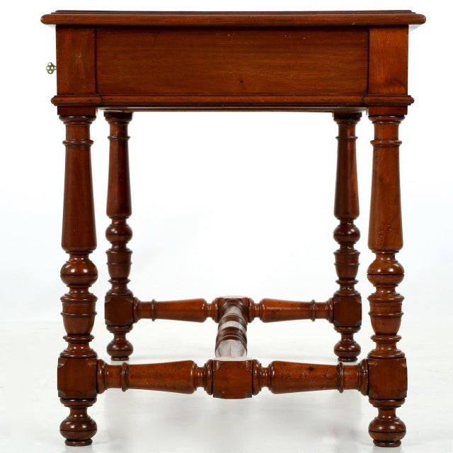 Image of English Mahogany Writing Desk