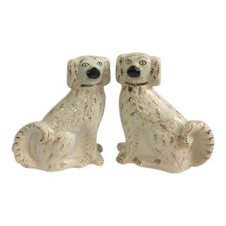 Staffordshire Dogs Figurines - a Pair