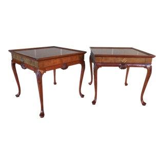 Baker End Tables - Pair