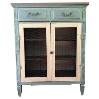 Repurposed Shabby Chic/Farmhouse Storage Cabinet