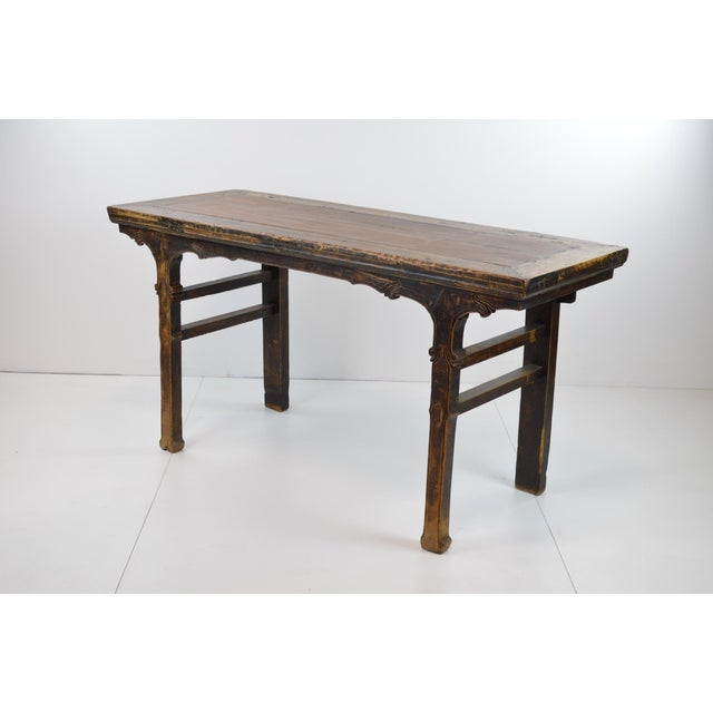 Image of Rustic Antique Chinese Console Table