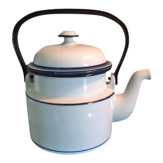 Dansk Bistro Christianshavn Blue Tea Pot With Lid