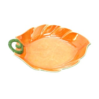 Vintage P.A.L.T. Czechoslovakian Pumpkin Plate