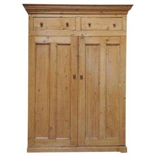 Two Door Pine Cabinet