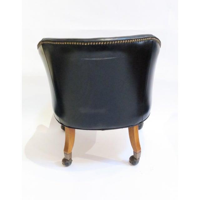 Vintage Black Armchair - Image 5 of 6