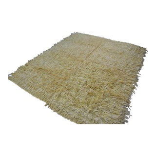 Turkish Anatolian Angora Rug - 6′10″ × 7′11″