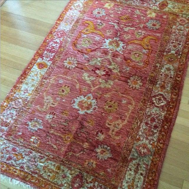 Image of Silk Oriental Rug - 3'5'' x 6'