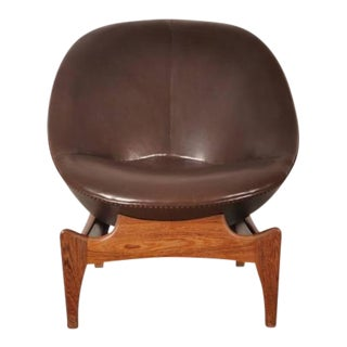 Rare Easy Chair by Emiel Veranneman, Belgium, 1958